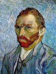Self-portrait, Vincent Van Gogh